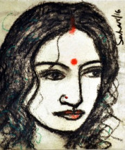 Radha | 12 x 10 Inches