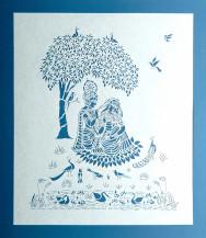 Radha Krishna | 27 X 24 Inches