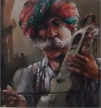 Rajasthani Man | 9.75 X 9 Inches