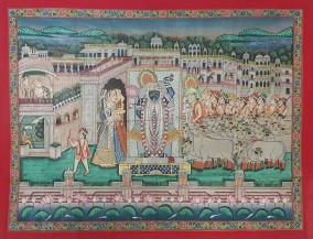 Sandhya Arti Darshan   36 X 47 Inches