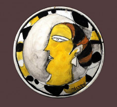 Lot 03 - Untitled   12 in diameter
