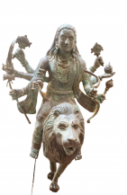 Shiva on Lion | 18''