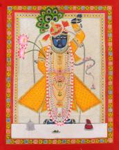 Shreenathji   48 X 36 Inches