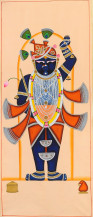 Shreenathji II | 60 X 24 Inches
