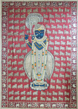 Shrinathji | 84 X 60 Inches