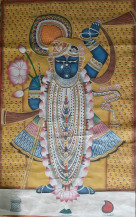 Shrinathji Rajbhog Swaroop I | 36 X 24 Inches