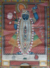 Shrinathji Rajbhog Swaroop II | 24 X 18 Inches