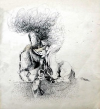 Sitting Bull  | 12 x 10.5 Inches