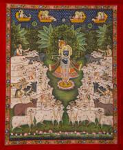 Srinathji Gopashtami I   42 X 36 Inches