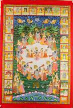 Srinathji Raas Leela   26 X 36 Inches