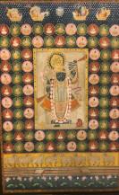 Srinathji Radbhog Swaroop 2   71 X 47 Inches