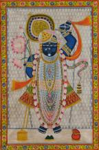 Srinathji Rajbhog Swaroop   36 X 24 Inches