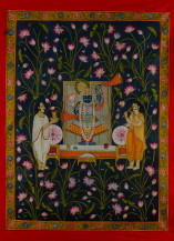 Srinathji Rajbhog Swaroop 1   48 X 36 Inches