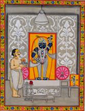 Srinathji Usnekal Swaroop   18 X 24 Inches
