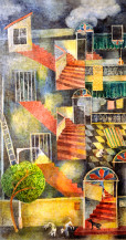 Stairway | 29 X 15.5 Inches