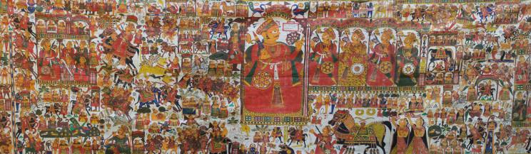 Story of Pabuji  | 167 X 53 Inches