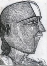 Telangana Man | 12 X 9 Inches
