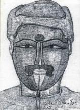 Telangana Man I | 12 X 9 Inches
