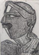 Telangana Man II | 12 X 9 Inches