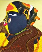 Telangana Woman | 10'' x 8''