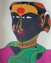 Lot 07 - Telangana Woman | 10 x 8 in