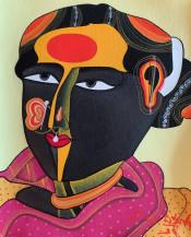 Telangana Woman | 10 x 8 in