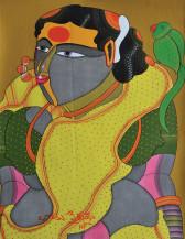 Telangana Woman | 16 X 12 Inches