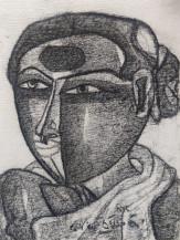 Telangana Woman II | 12 X 9 Inches