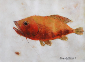 The Fish | 10.75 X 14.75 Inches