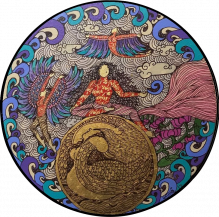 The Golden Womb series II | 12 Inches diameter