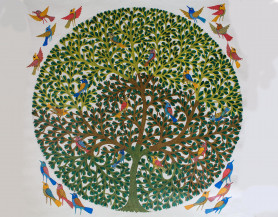 Tree of Life 1   48 X 48 Inches