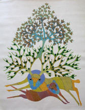 Tree of Life 2   48 X 36 Inches