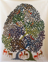 Tree Of Life I   48 X 36 Inches