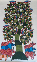 Tree Of Life IV | 42 X 26 Inches