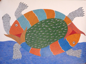 Turtle and fish | 22