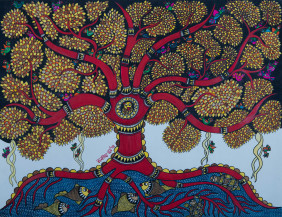 Tree of Life   22 X 30 Inches