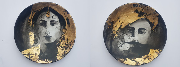 Untitled I and II | 9 Inches Diameter Each