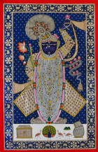 Shreenathji   60 X 36 Inches