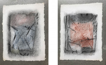Untitled (Set of 2) | 9.25 X 6.5 Inches each