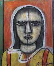 Woman   15 X 12 Inches