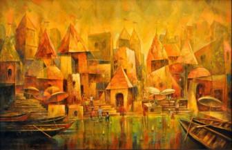Varanasi 2 | 25 x 42 Inches