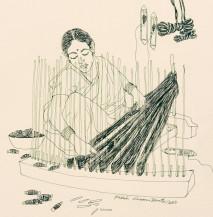 Weaving Series II | 8 X 8 Inches
