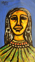 Woman | 20.5 X 11.5 Inches