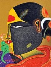 Telangana Woman | 12 x 9 in