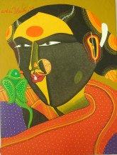 Telangana Woman (coloured) | 12